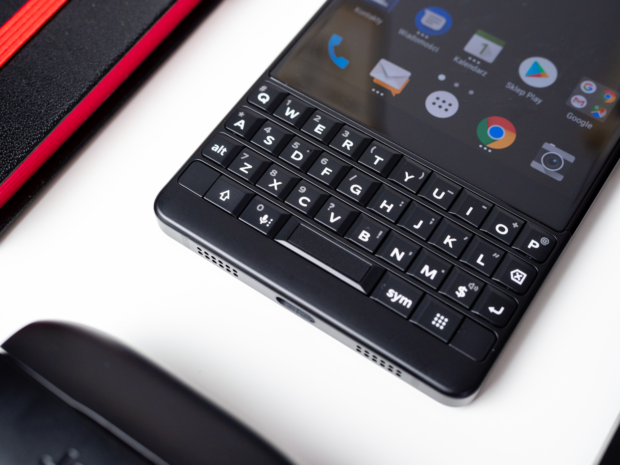 BlackBerry Key2 - klawiatura.