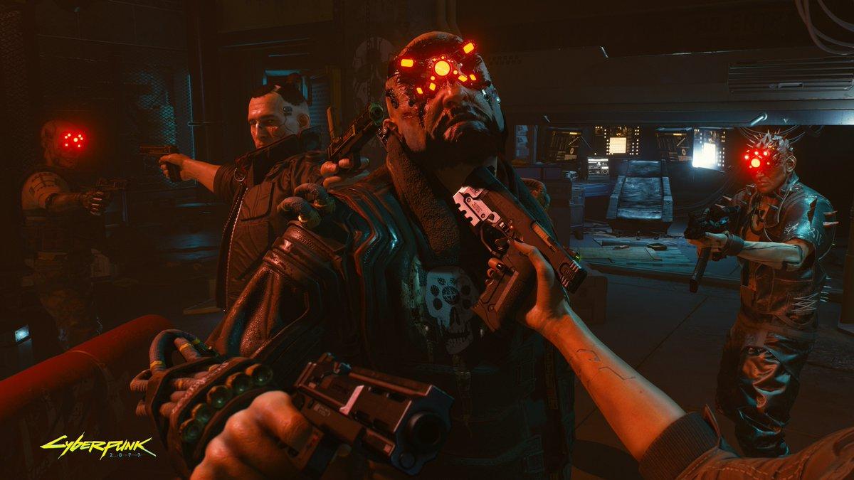 cyberpunk 2077 gamescom 2018