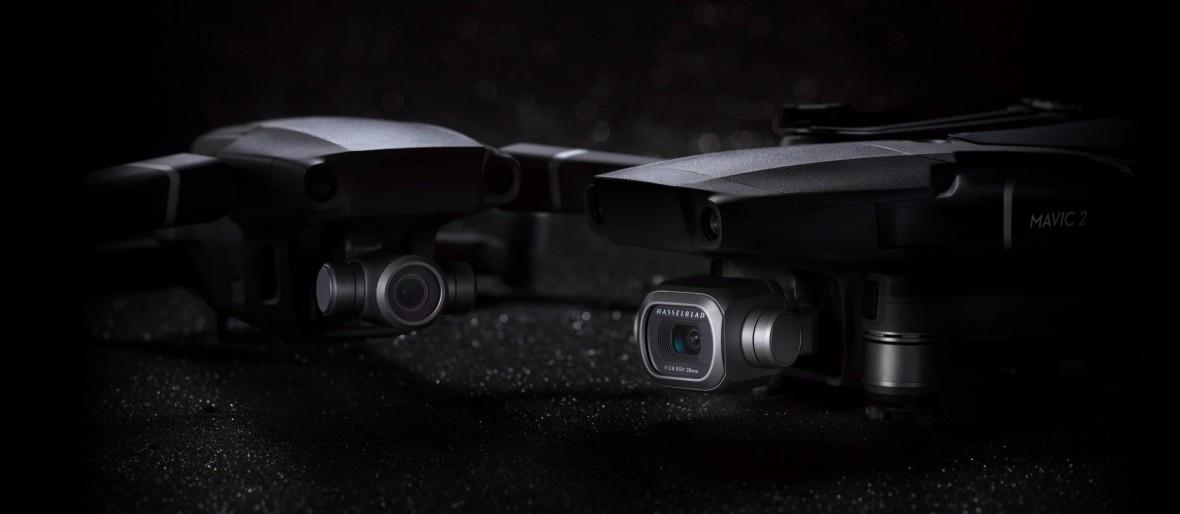 DJI nie ma litości dla konkurencji. Drony DJI Mavic 2 Pro i Mavic 2 Zoom są obłędne