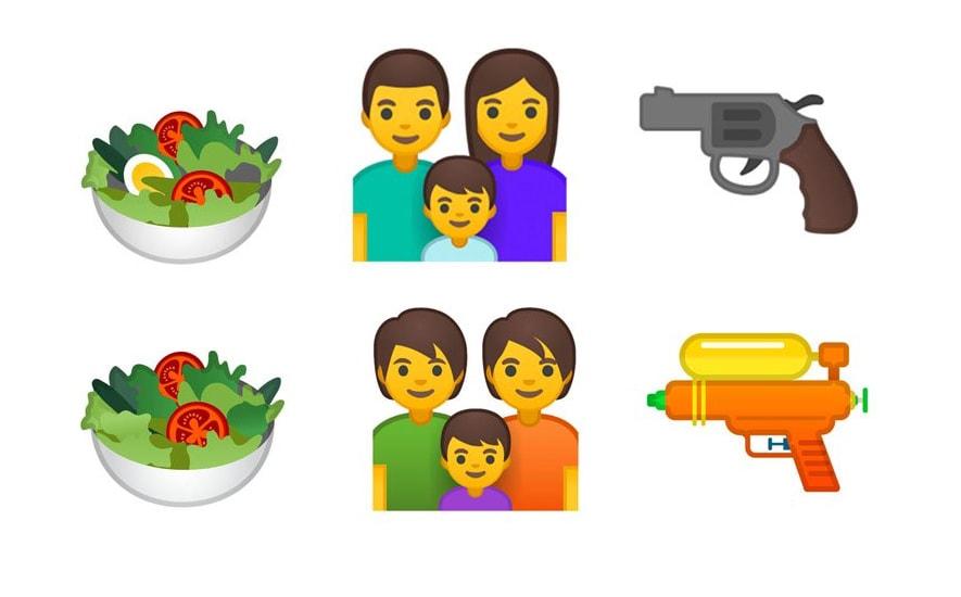 Nowe emoji w Androidzie P