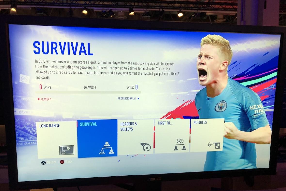 Sprawdziliśmy tryb Survival w FIFA 19. To nie gra w piłkę, to rzeź niewiniątek