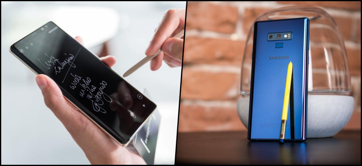 Samsung Galaxy Note 9 kontra Galaxy Note 8. Czy warto dopłacić prawie 1000 zł do nowego telefonu?