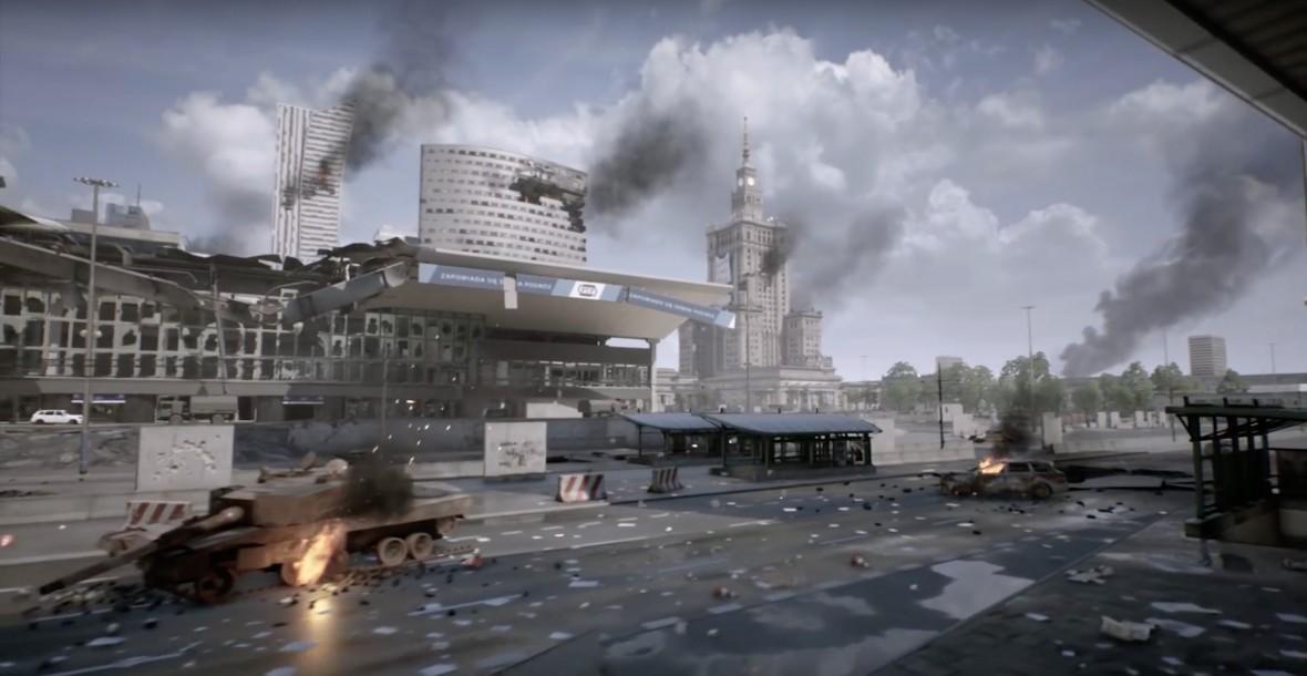 Warszawa płonie! Gameplay World War 3 pokazuje krwawą bitwę pod Pałacem Kultury