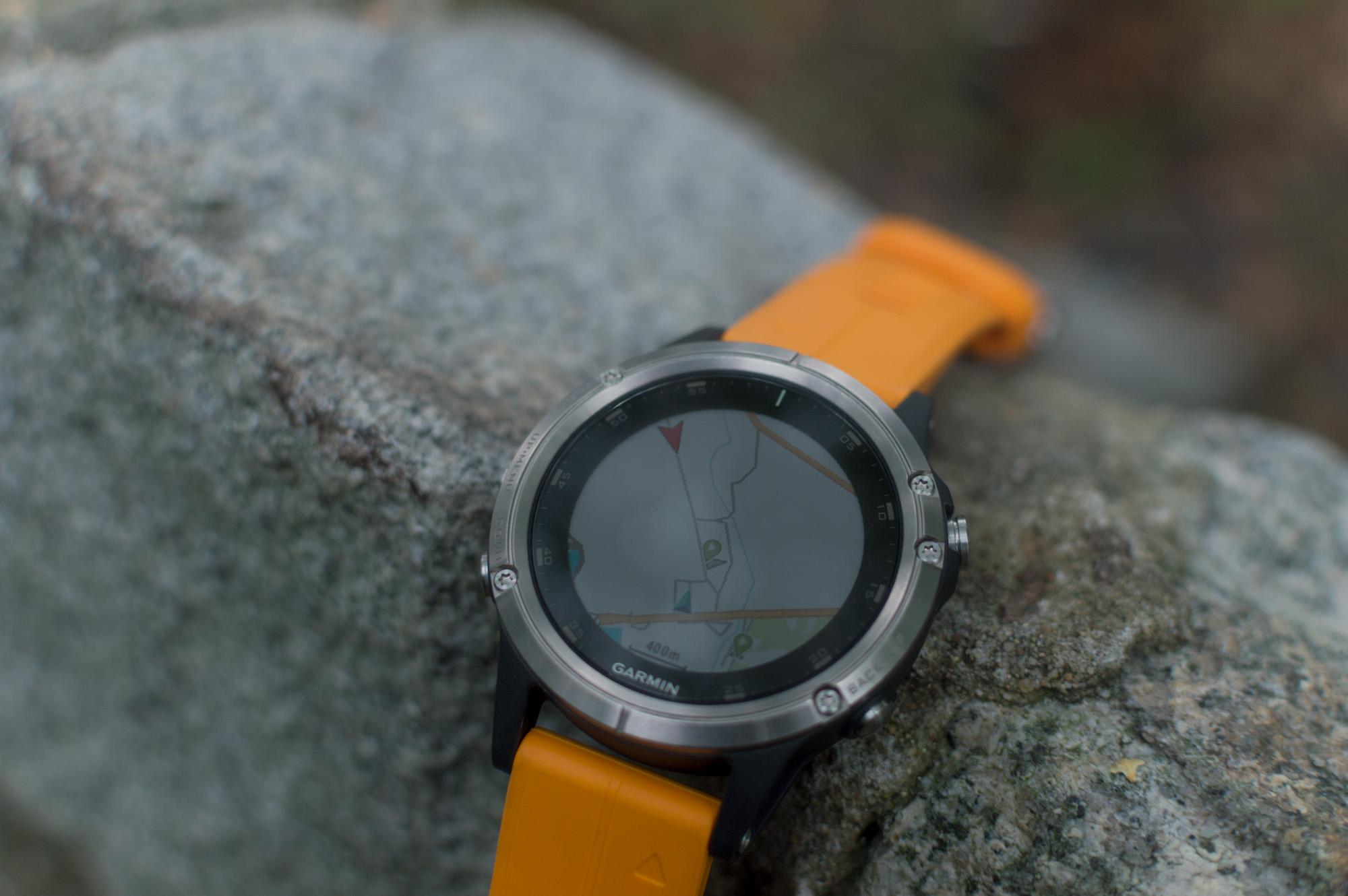 Garmin fenix 5 Plus - mapy i nawigacja w zegarku