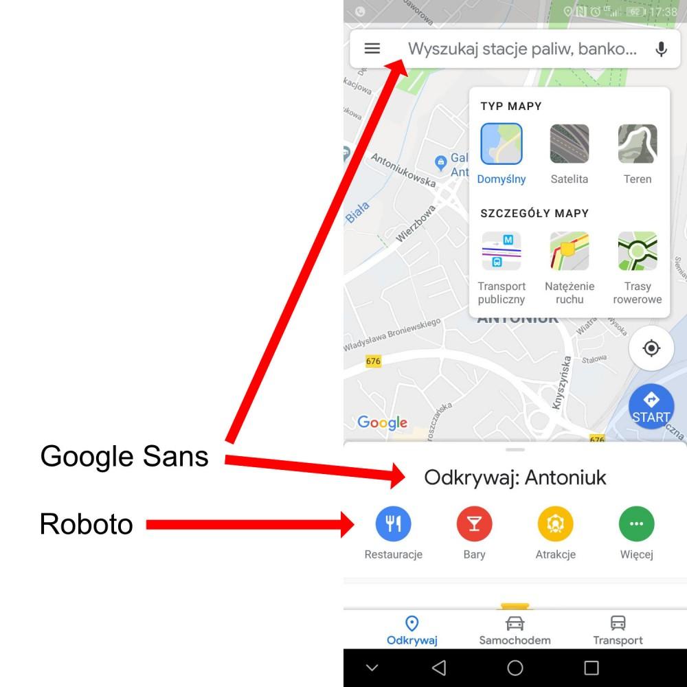 Google Theme nowe aplikacje