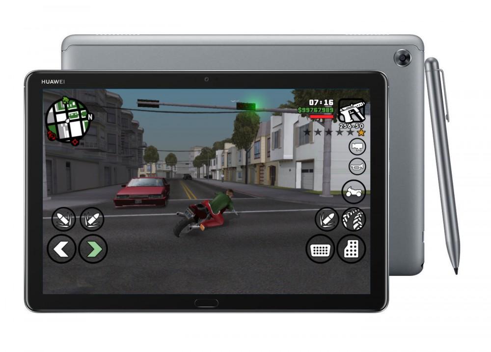 GTA uruchomione na Huawei MediaPad M5 lite