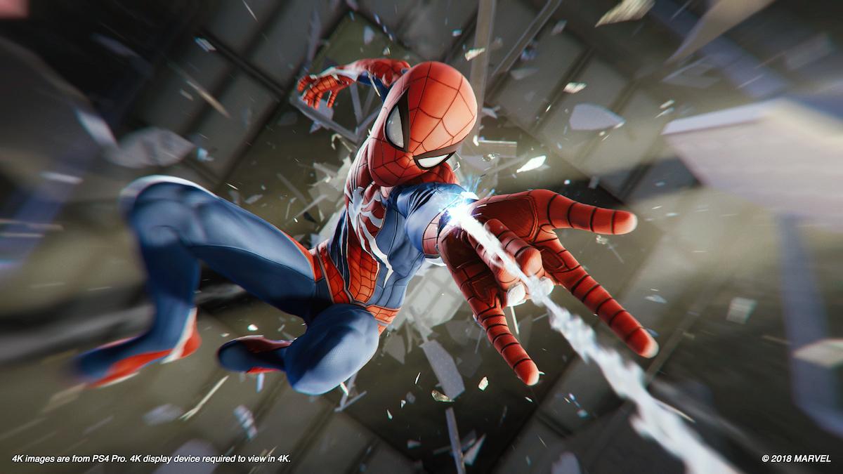 marvel's spider-man ps4 pierwsze wrażenia