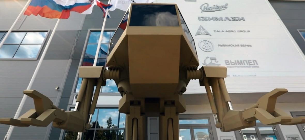 Igorek ma 4 metry, waży 4 tony, wygląda jak mech i jest nową bronią tworzoną przez Rosjan