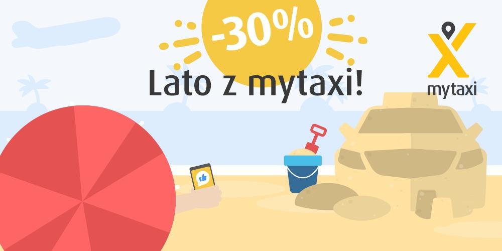 mytaxi promocja lato 2018