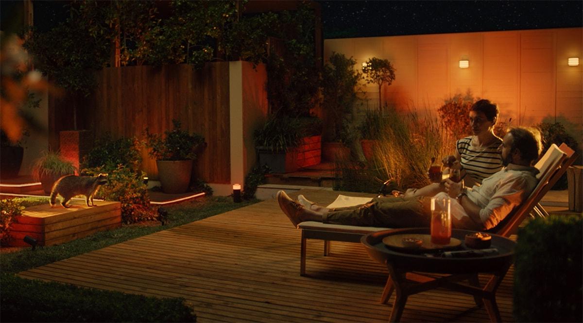 Philips Hue outdoor oświetlenie ogrodowe