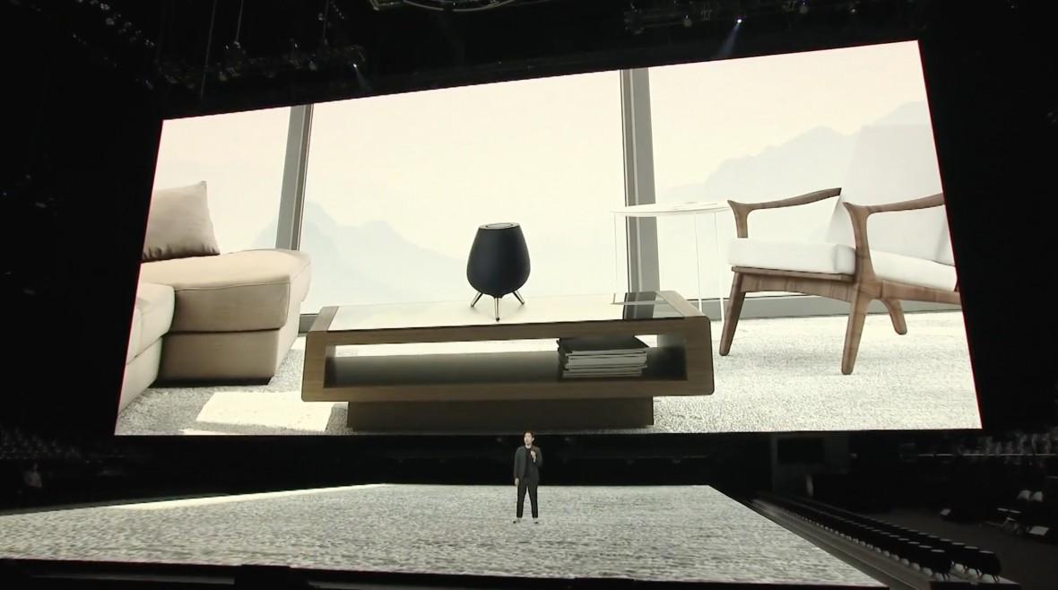 To musiało się wydarzyć. Samsung zaprezentował swój pierwszy inteligentny głośnik – Galaxy Home