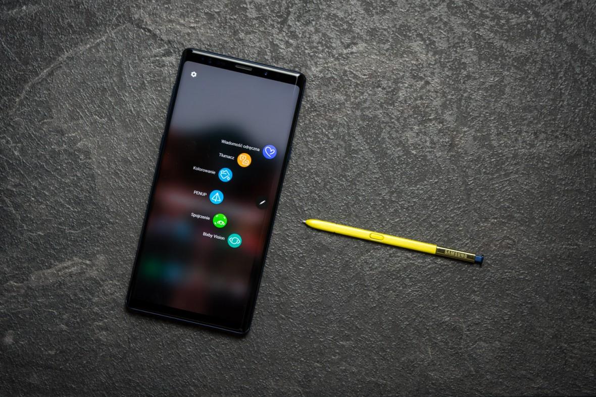 Samsung Galaxy Note 10 mógł być smartfonem bez przycisków, ale nie będzie