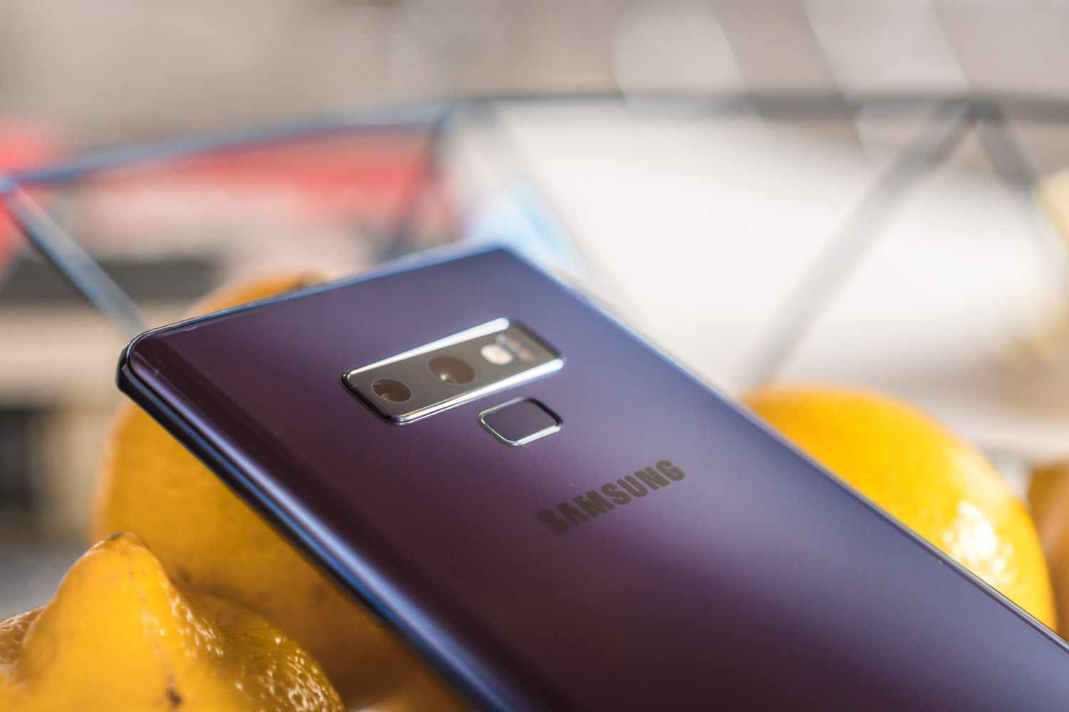 Samsung Galaxy Note 9 aparat