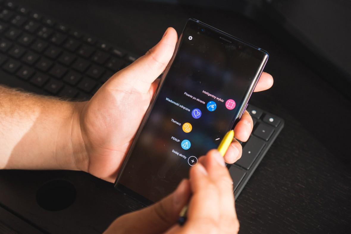 Bezsprzecznie najpotężniejszy telefon na rynku. Samsung Galaxy Note 9 – pierwsze wrażenia