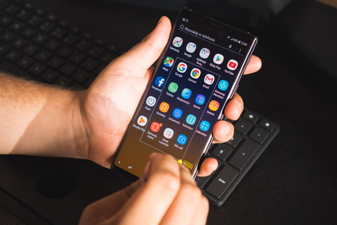 Samsung znowu to zrobił. Ekran Galaxy Note 9 nie ma żadnych konkurentów