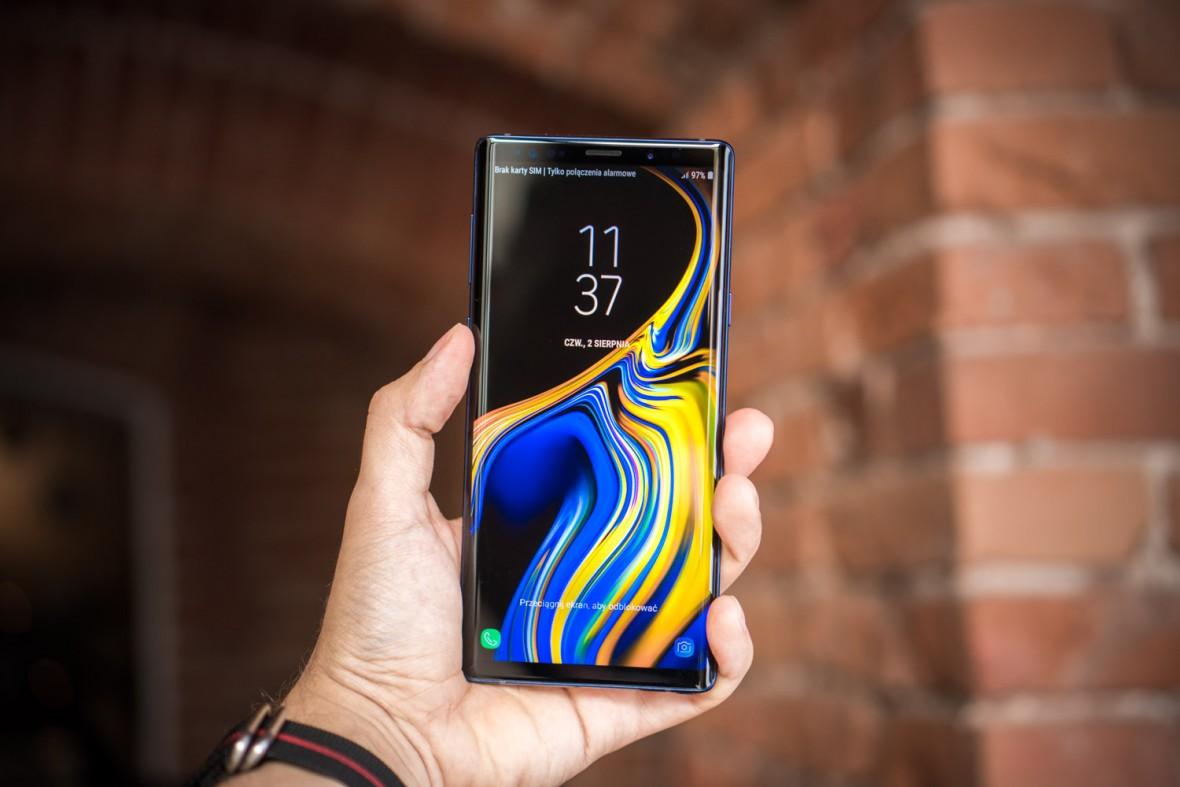 Ile pamięci potrzebujemy w smartfonie? Samsungi Galaxy Note 9 512 GB sprzedają się lepiej od 128 GB