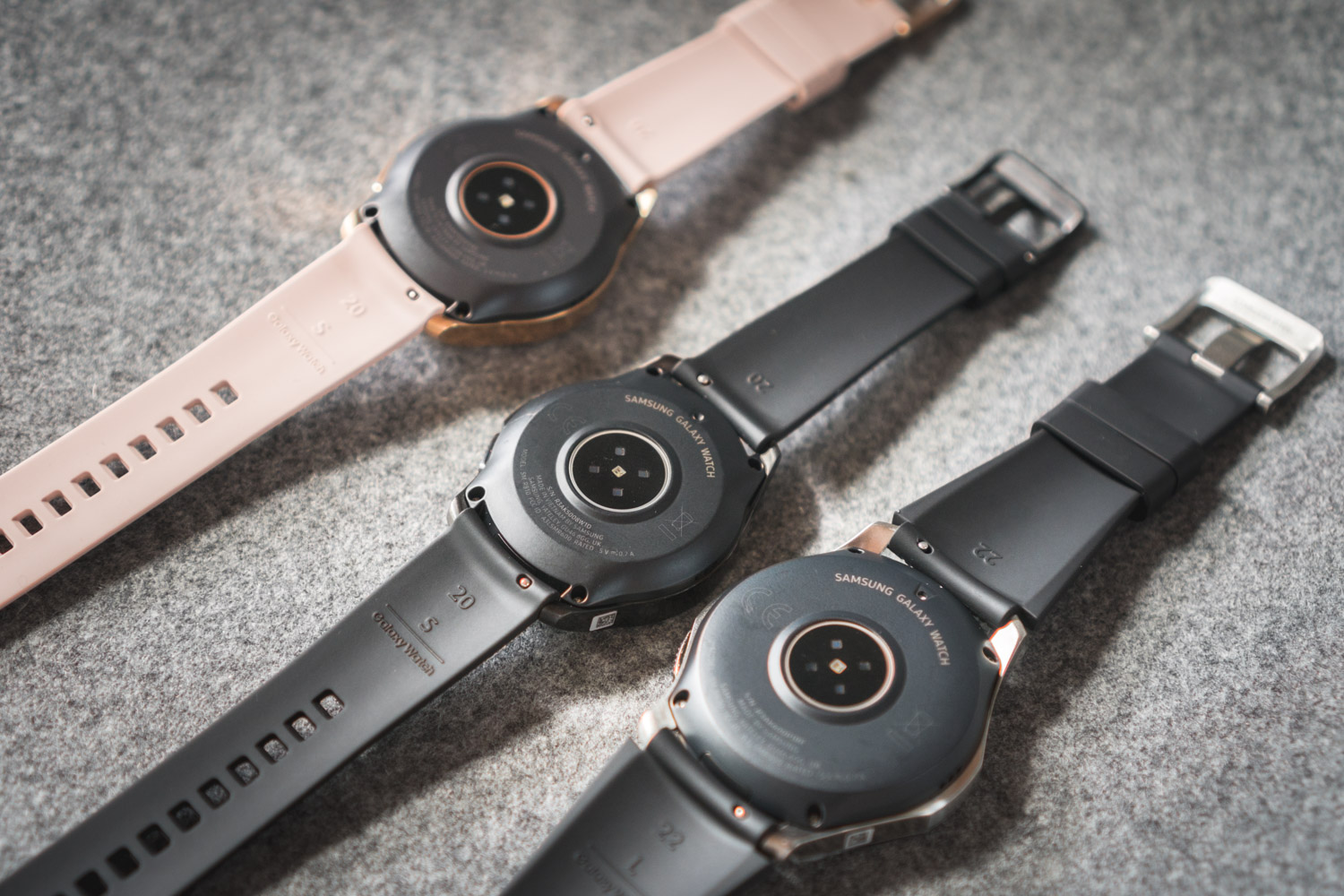 Samsung Galaxy Watch czujniki