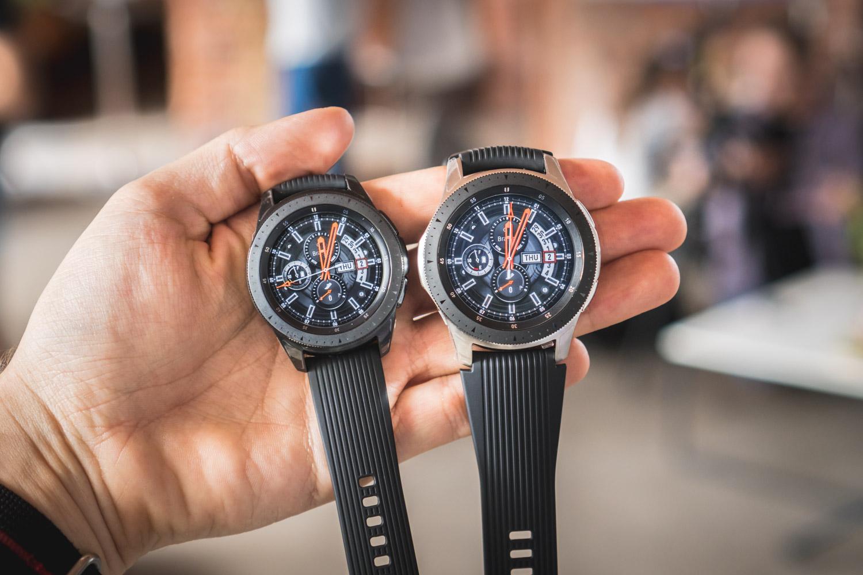Samsung Galaxy Watch w dwóch rozmiarach