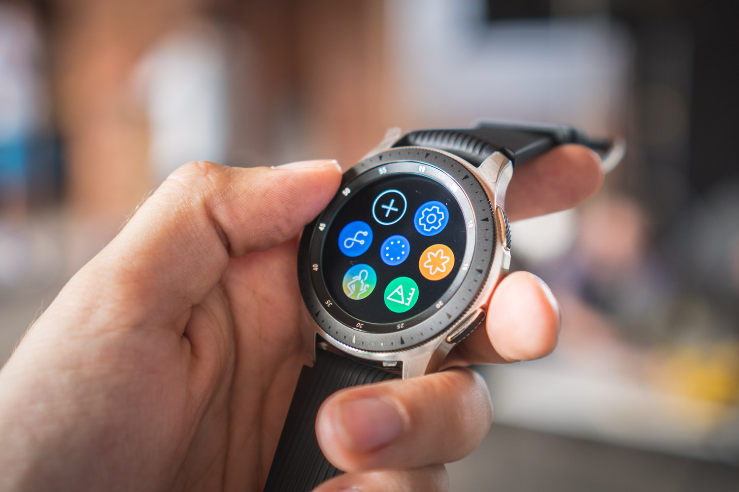 Samsung Galaxy Watch korona