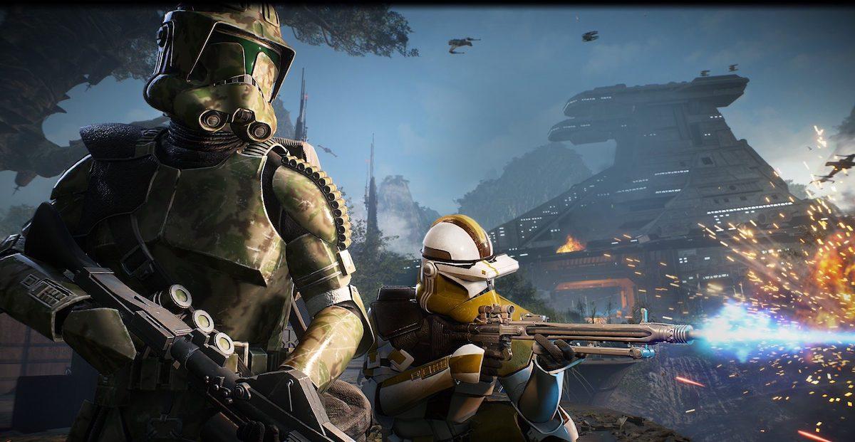 star wars battlefront 2 2018 elite corps wojny klonów