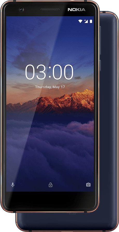 Wszystkie smartfony, które Nokia wypuściła w 2018 roku: Nokia 3.1