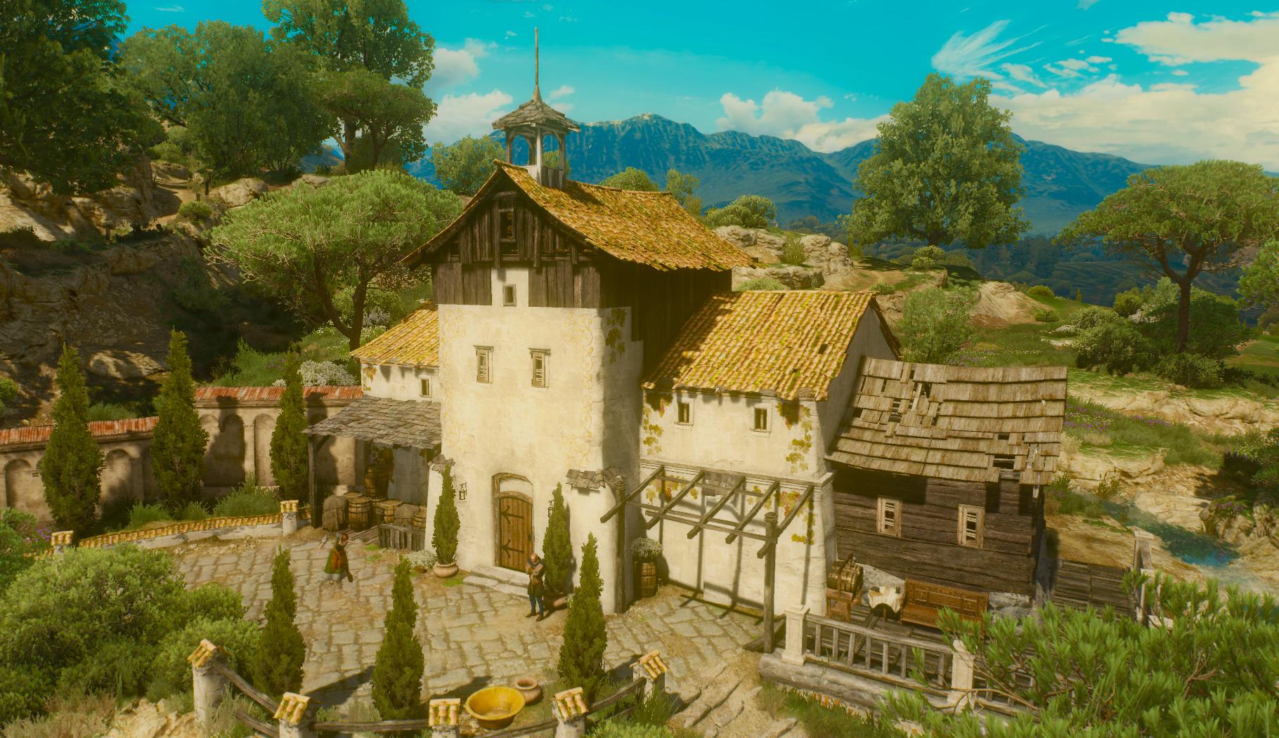 Corvo Bianco – winnica w Toussaint będąca własnością Geralta z Rivii - źródło: wiedzmin.wikia.com