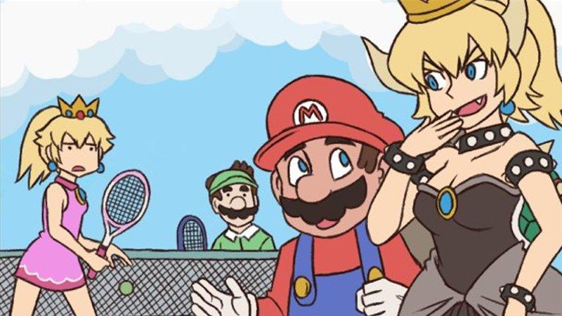 Nintendo porno komiksy čierna Teen XXX obrázky