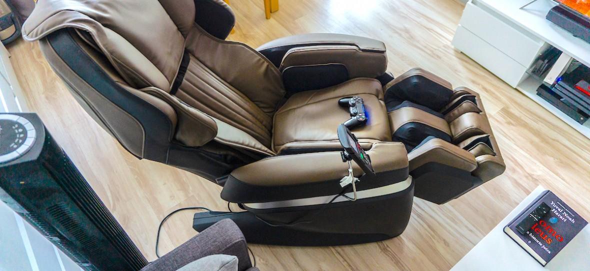 Fotel do masażu w cenie nowego samochodu. Fujiiryoki JP1000 – recenzja