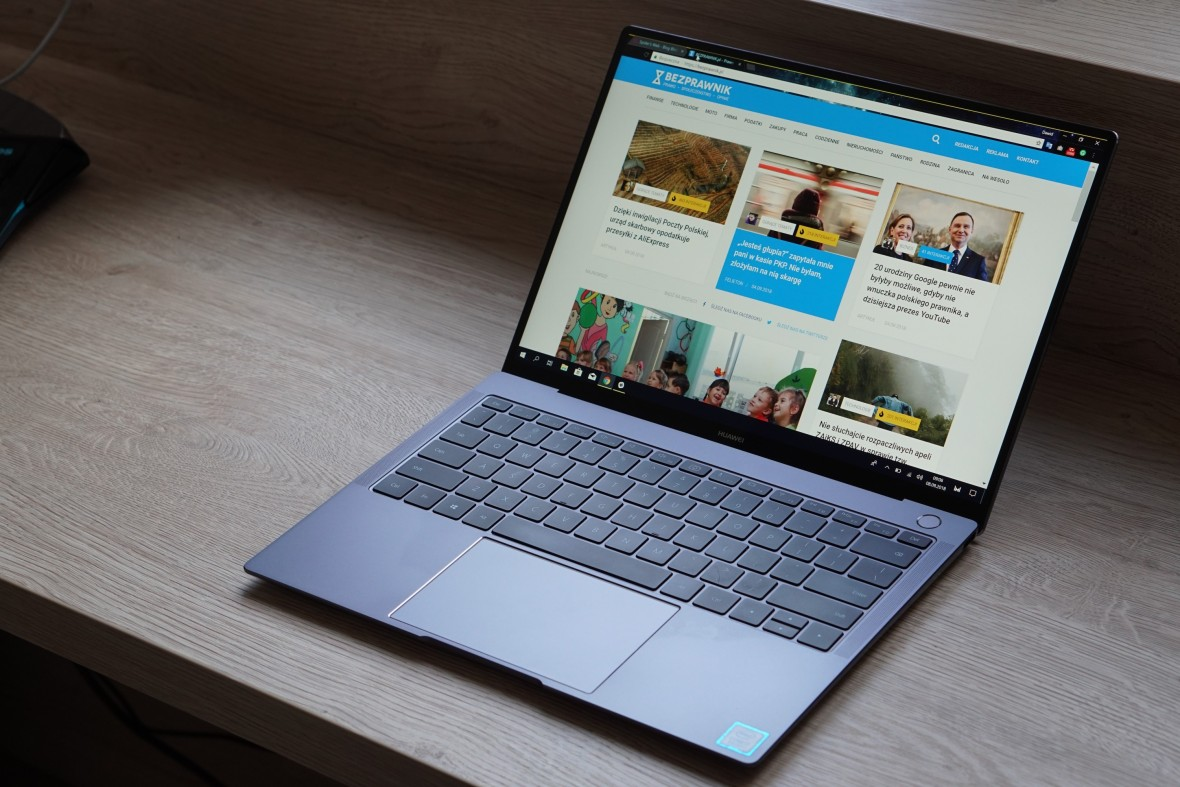 Huawei Matebook X Pro pokazuje, że komputer może być i smukły, i szybki. I ty możesz go zdobyć!