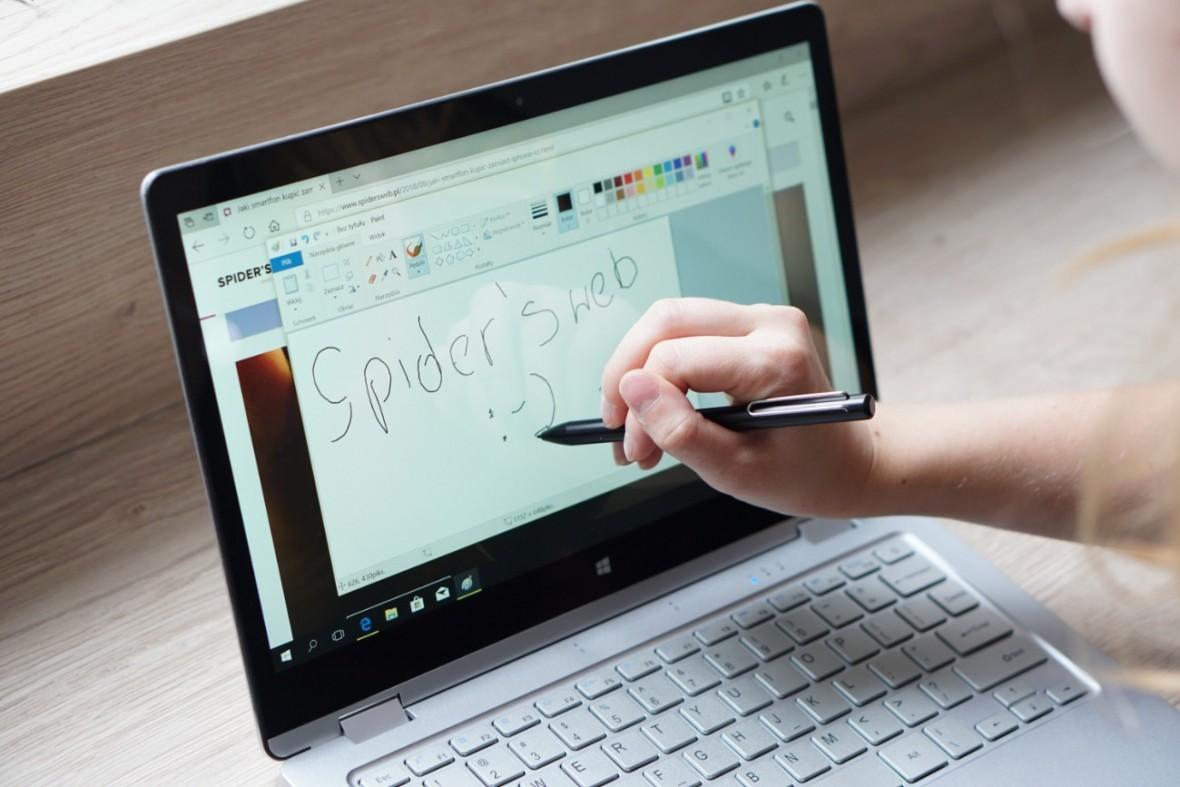 Kiano Elegance 13.3 360 to tani laptop, który miło mnie zaskoczył