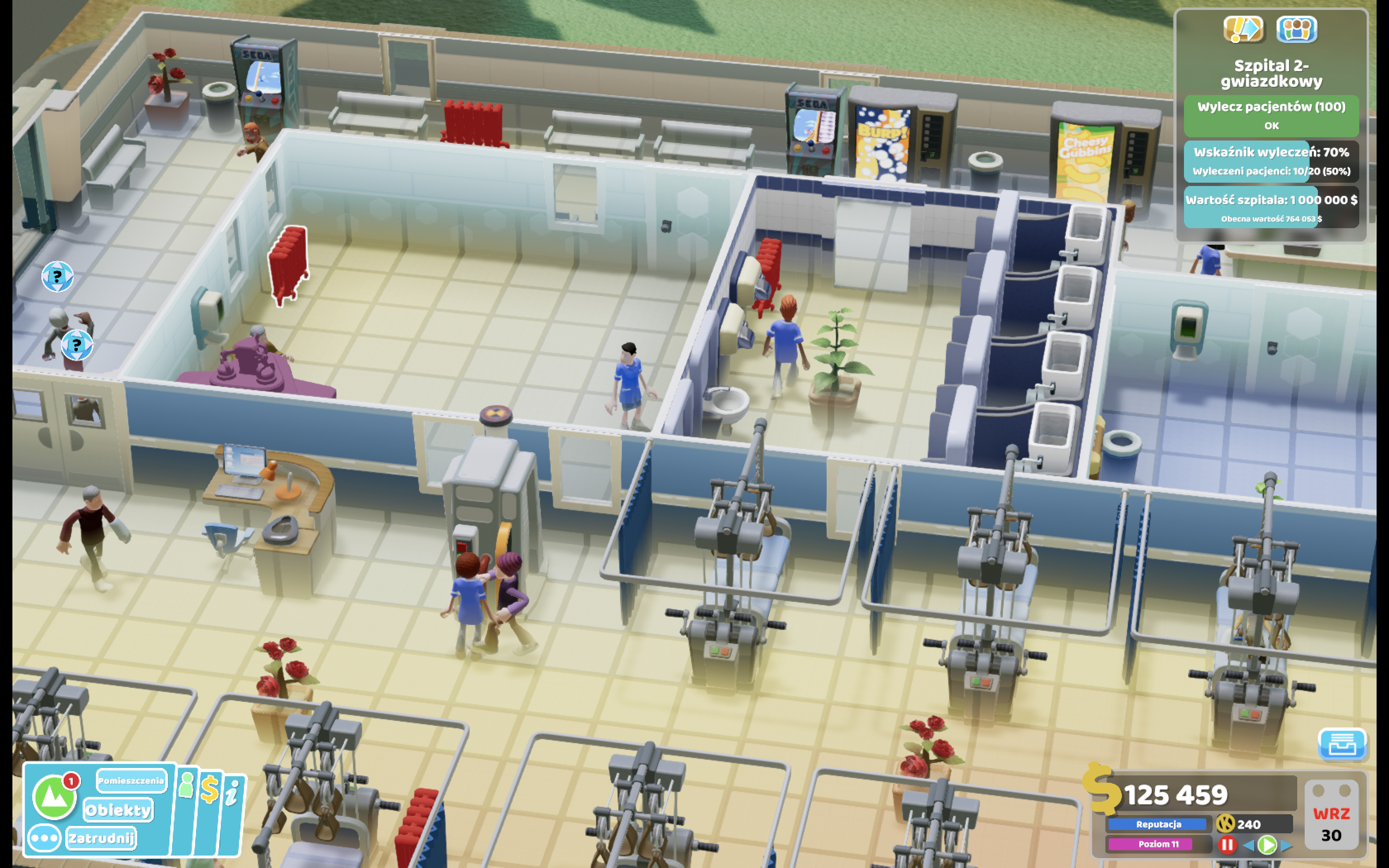 Two Point Hospital: po dekadach znowu jakiś fajny tycoon na komputery!