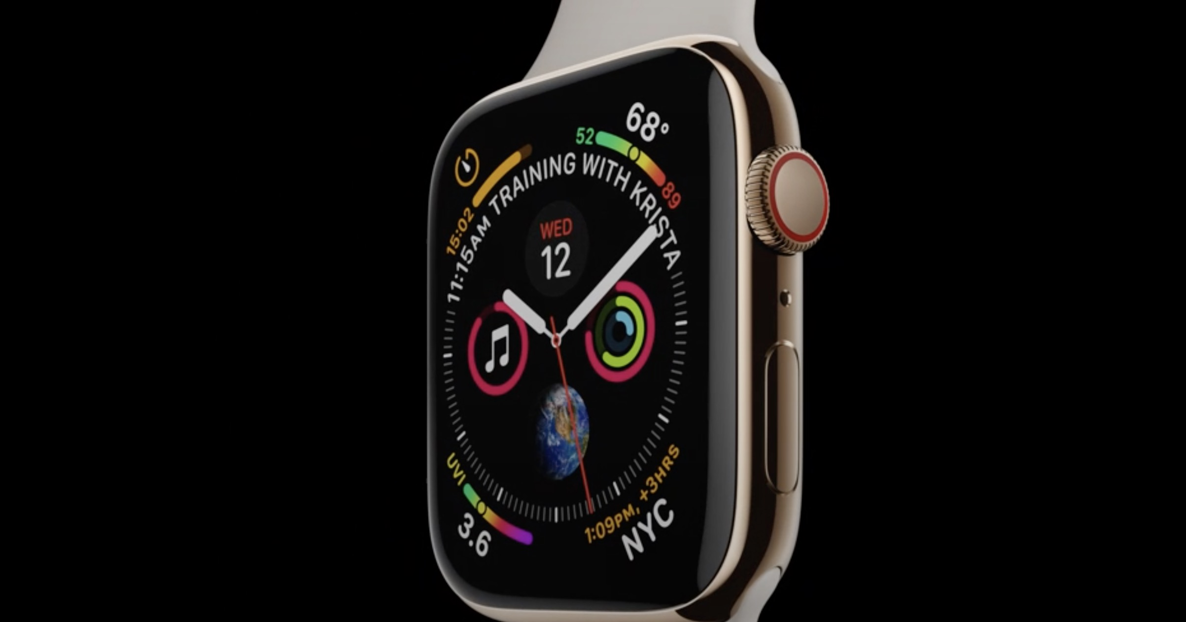nowy Apple Watch 4