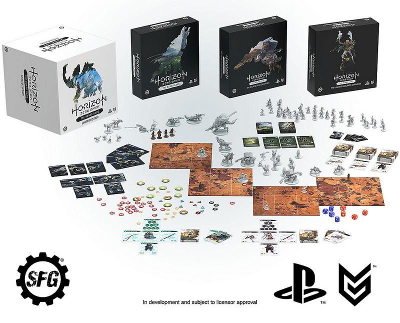 Chcieli 200 tys. dolarów, dostali milion. Powstanie planszówka Horizon Zero Dawn – The Board Game