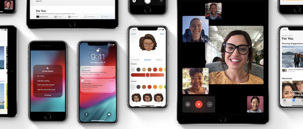 iOS 12 trafi na iPhone'y i iPady 17 września