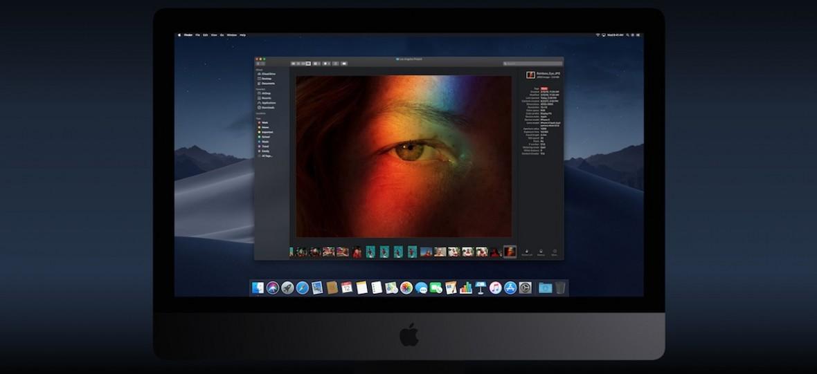 Tryb ciemny, nowy Finder, a przede wszystkim nowe tapety. MacOS 10.14 Mojave – pierwsze wrażenia