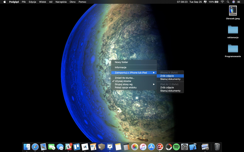 macOS Mojave Continuity Camera