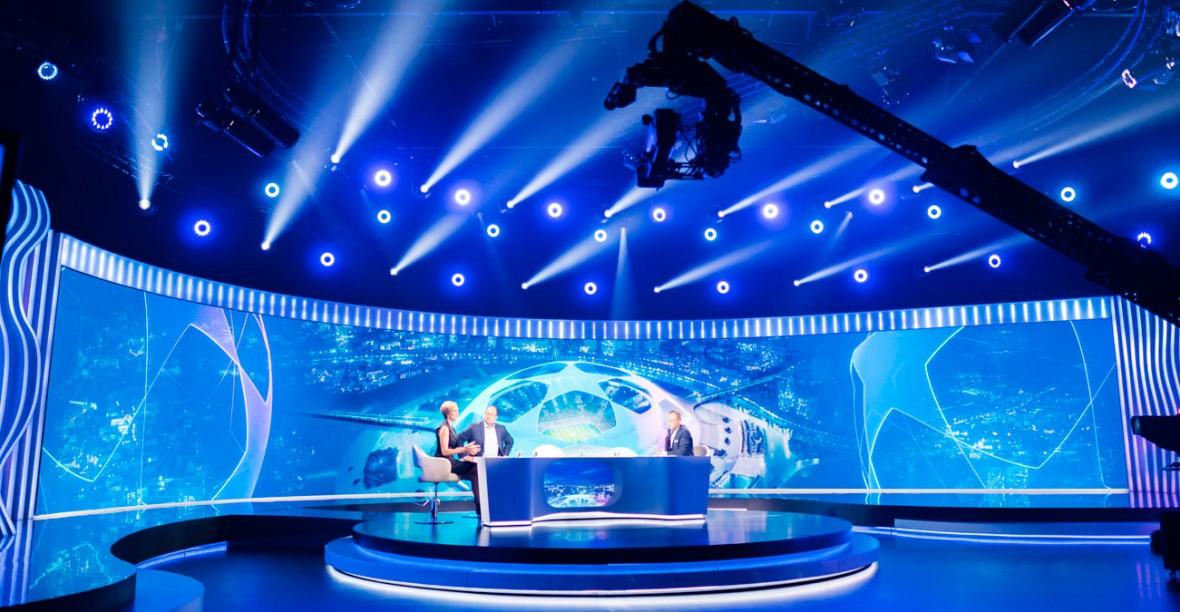 Nowe studio Polsat Sport to technologiczny majstersztyk. Jest w nim ekran większy od mojego mieszkania