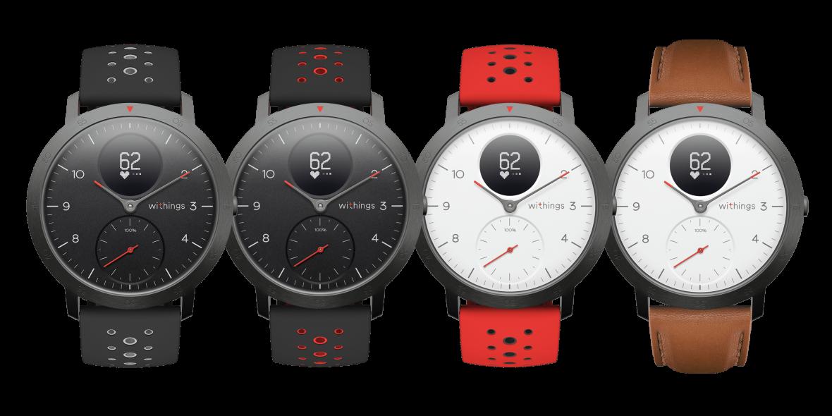 Withings powraca z nowym logo i nowym, pięknym zegarkiem. Oto Withings Steel HR Sport
