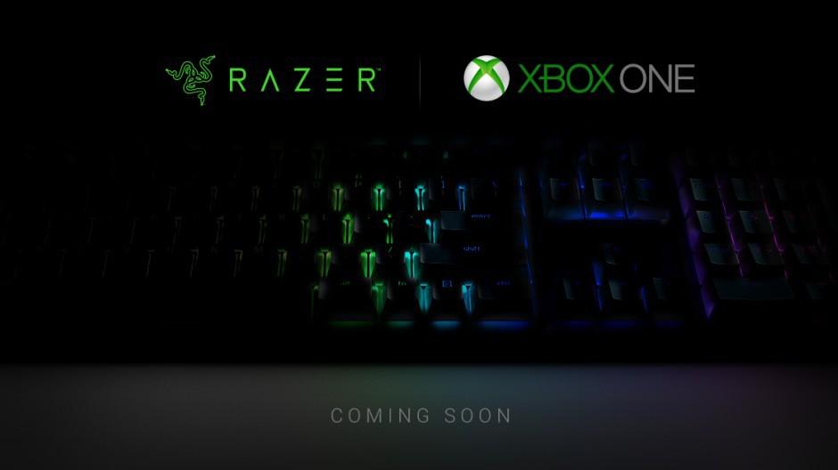 Xbox One myszka i klawiatura