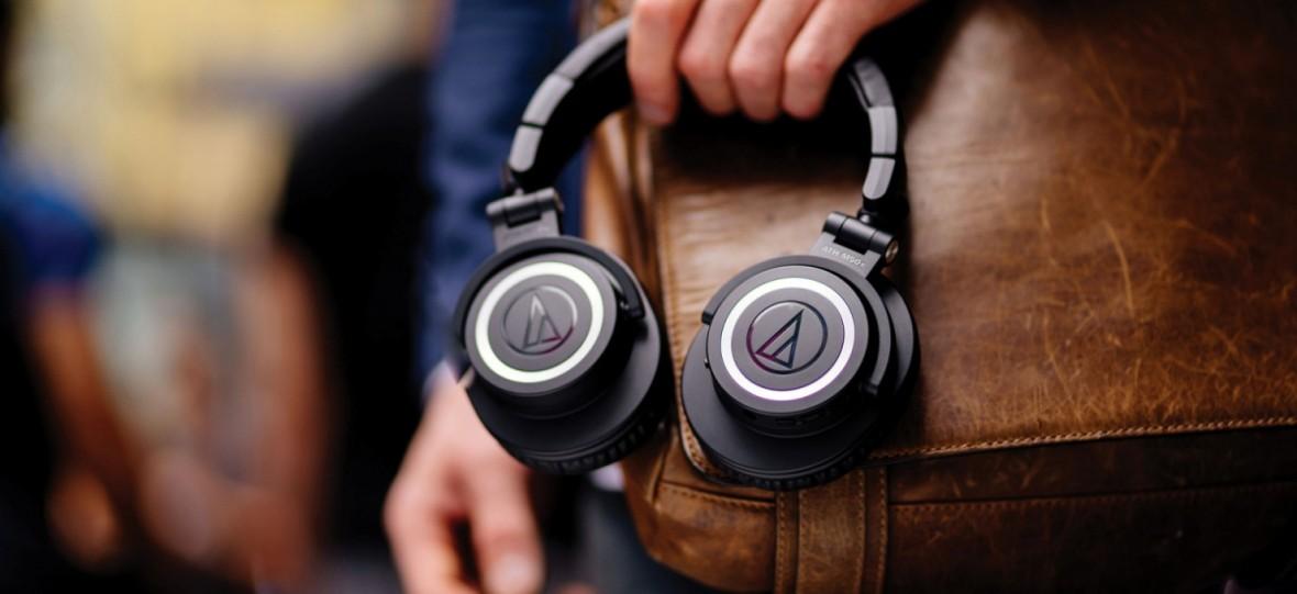 Legendarne słuchawki studyjne doczekały się bezprzewodowej wersji. Oto Audio-Technica ATH-M50xBT
