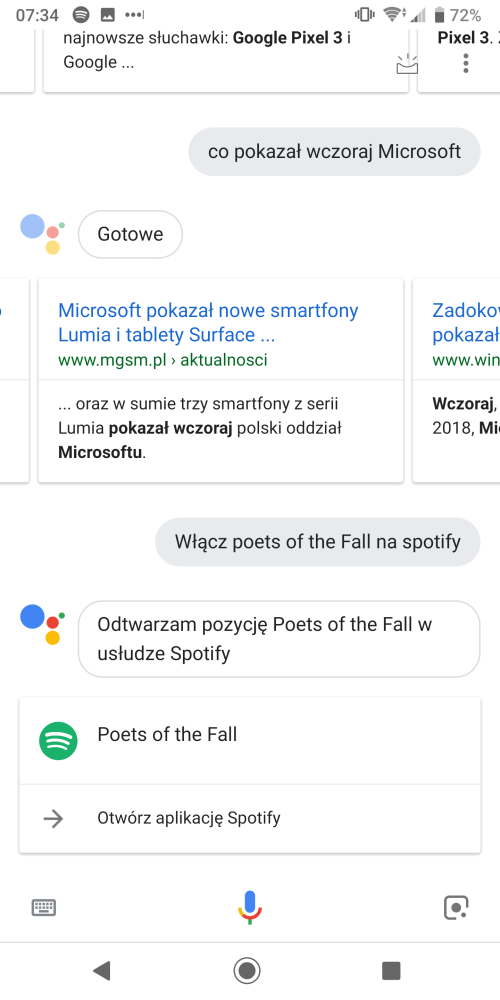 Co potrafi Asystent Google po polsku?