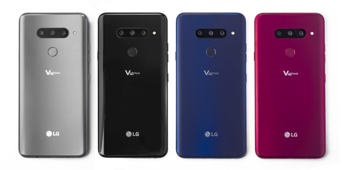 LG V40 ThinQ ma aż 5 aparatów.