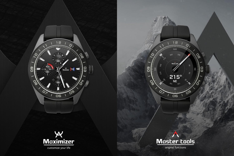 LG Watch W7 to hybryda analogowego zegarka i smartwatcha.