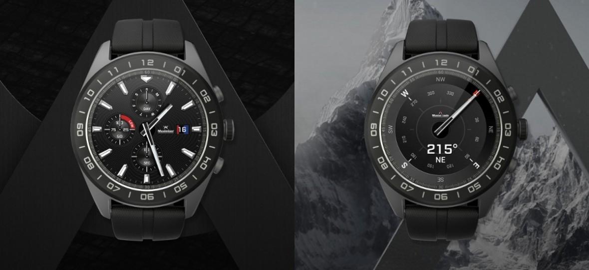 LG Watch W7 to przedziwny smartwatch z Wear OS i… mechanicznymi wskazówkami