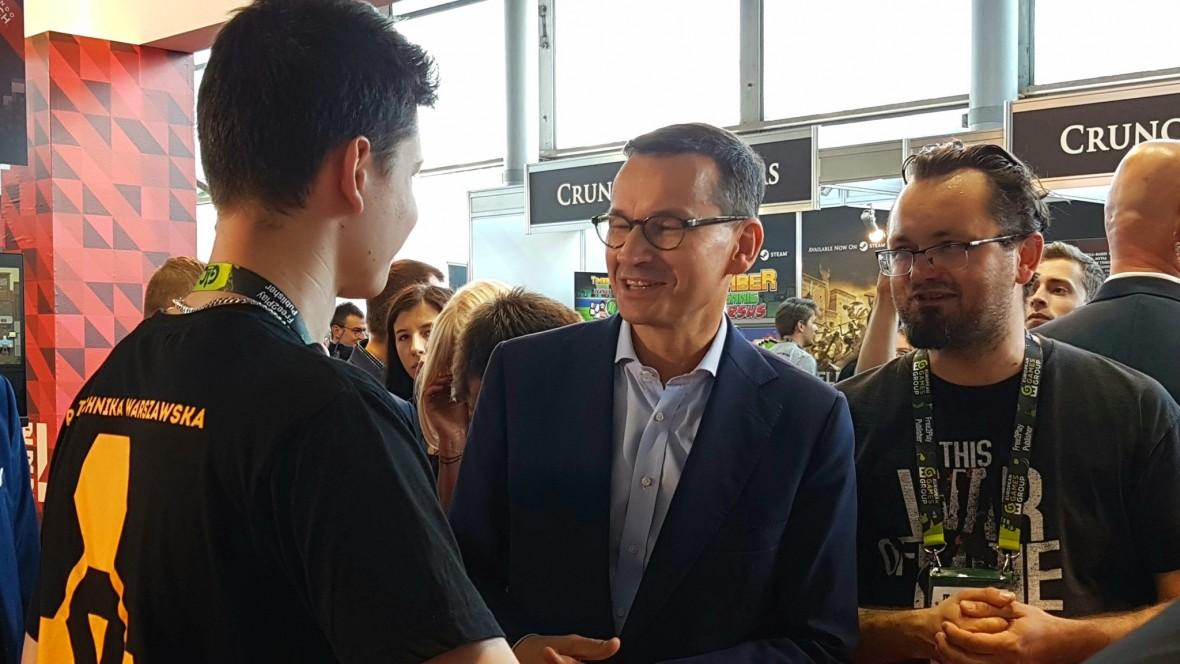 Morawiecki na imprezie poświęconej grom. Na PGA 2018 premier deklaruje: fundusz dla gier i specjalna arena