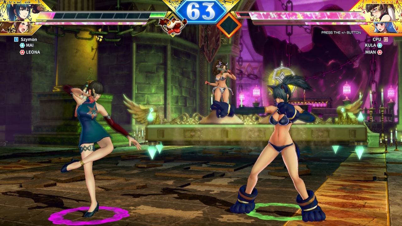 SNK Heroines Tag Team Frenzy z półnagimi postaciami to szczyt żenady - recenzja
