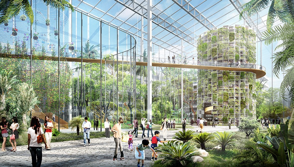 autonomiczne farmy wertykalne miejskie