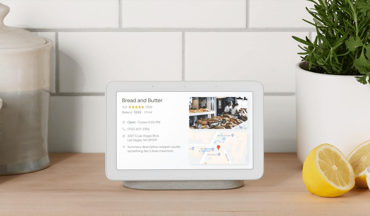 Google Home Hub to nowy inteligentny głośnik wyposażony w duży ekran