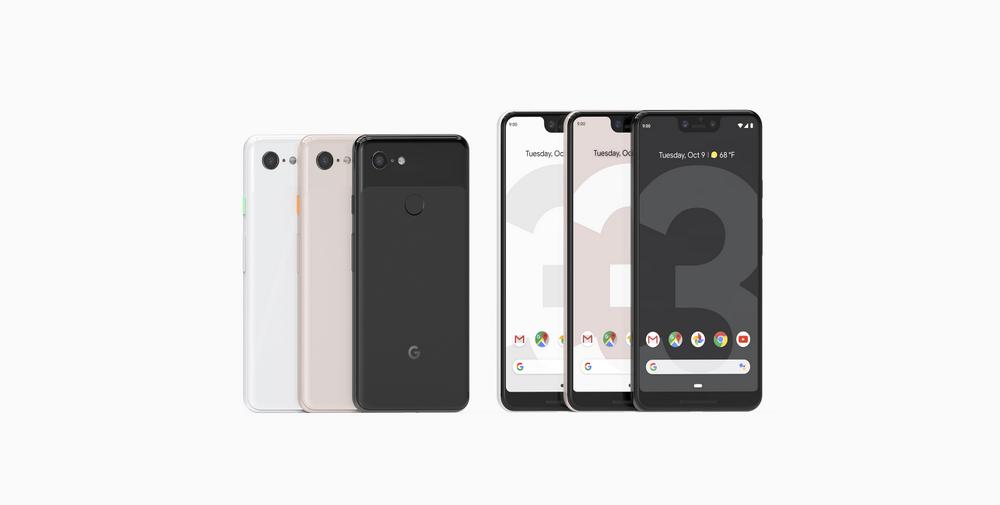 Oto Pixel 3 i Pixel 3 XL