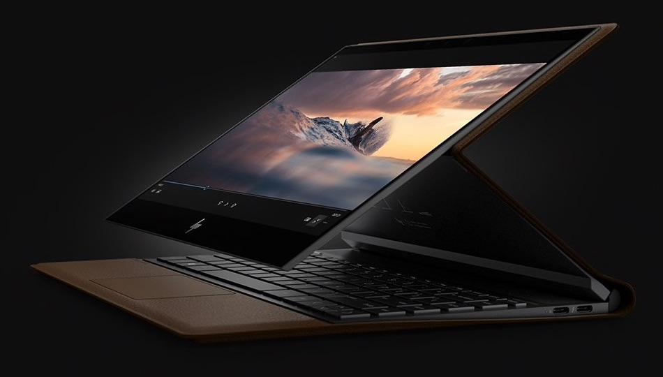 HP spectre folio - skórzany laptop
